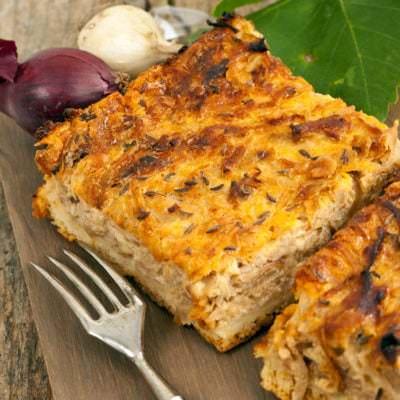 Zwiebelkuchen - Vino Culinario