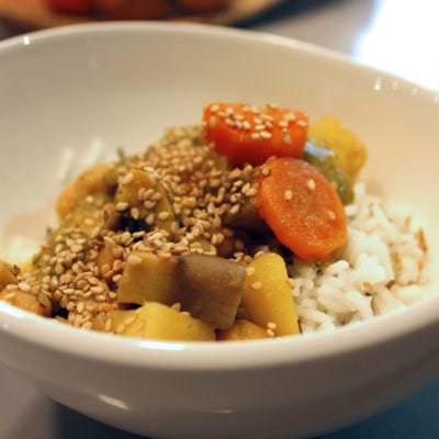 Vegetarisches Massaman-Curry - Vino Culinario