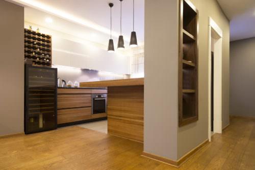 Weinkühlschrank in der Küche - Vino Culinario