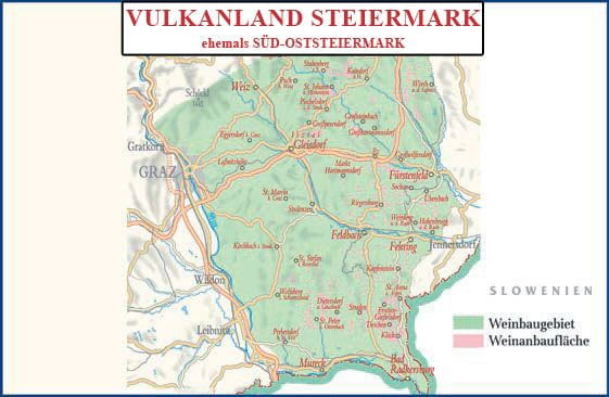 Anbaugebiet Vulkanland Steiermark - Vino Culinario