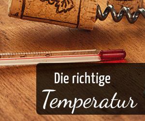 Die richtige Temperatur von Wein - Vino Culinario