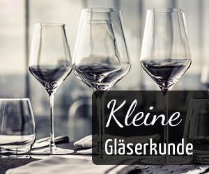 Weingläser - welches Glas für welchen Wein - Vino Culinario