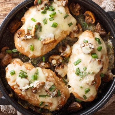 Hühnchen Lombardei - Huhn Marsala - Vino Culinario