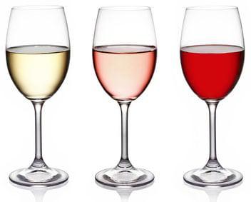 Weißwein, Rosé & Rotwein. Deutsche Weine haben meist einen etwas geringeren Alkoholgehalt - Vino Culinario