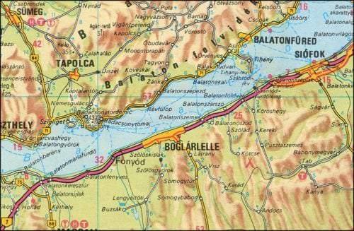 Weinanbaugebiet Balaton-Boglár in Ungarn - Vino Culinario