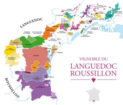 Das französische Weinbaugebiet Languedoc-Roussillon - Vino Culinario