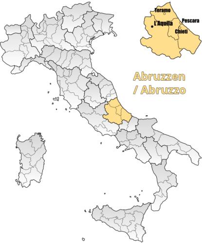 Weinbaugebiet Abruzzen / Abruzzo - Vino Culinario