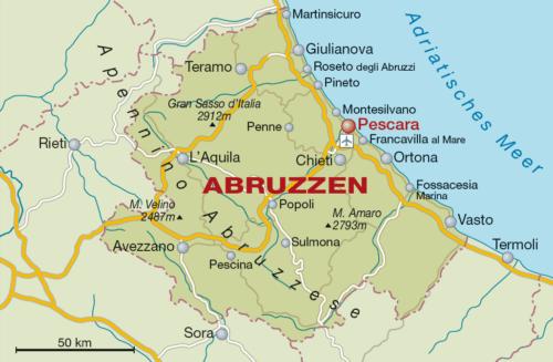 Weinbaugebiet Abruzzen (Italien) - Vino Culinario