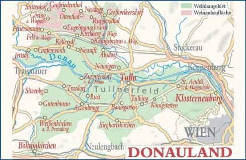 Donauland - Weinanbaugebiet in Österreich - Vino Culinario