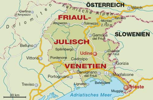 Friaul-Julisch Venetien - Vino Culinario
