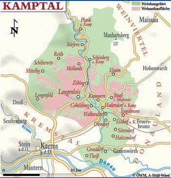 Kamptal - Weinanbaugebiet in Österreich - Vino Culinario