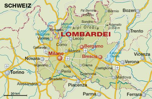 Weinbaugebiet Lombardei - Vino Culinario