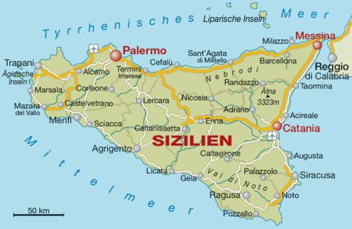 Weinbaugebiet Sizilien - Vino Culinario