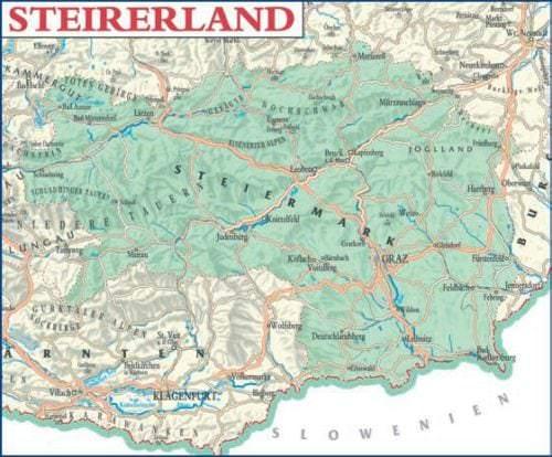 Steirerland, Steiermark - Weinanbaugebiet in Österreich - Vino Culinario