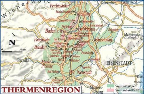 Thermenregion - Weinanbaugebiet in Österreich - Vino Culinario