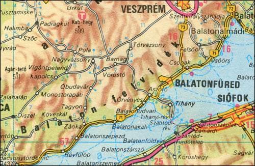 Weinanbaugebiet Balaton Füred-Csopak in Ungarn - Vino Culinario