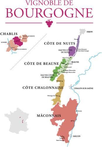 Das Weinbaugebiet Burgund (Bourgogne) - Vino Culinario