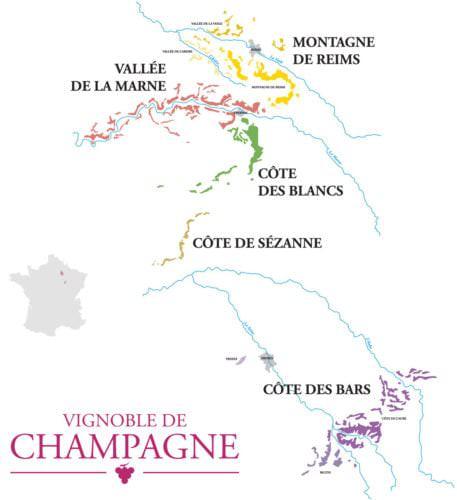 Das französische Weinbaugebiet Champagne - Vino-Culinario